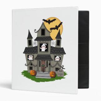 Halloween Haunted House Binder