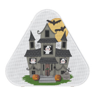 Halloween Haunted House Bluetooth Speaker