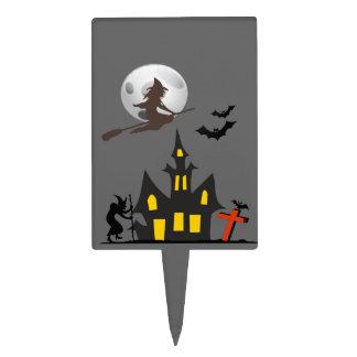Halloween Haunted House Cake Pick