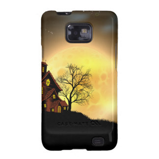 Halloween haunted house galaxy s2 cover