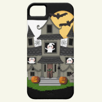 Halloween Haunted House iPhone SE/5/5s Case