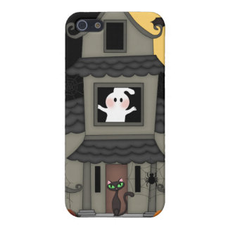 Halloween Haunted House Cover For iPhone SE/5/5s