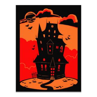 Halloween Haunted House Custom Invite