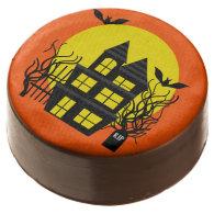 Halloween Haunted House Dipped Oreos Chocolate Covered Oreo