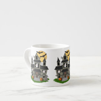 Halloween Haunted House Espresso Cup