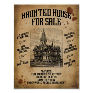 House For Sale Posters | Zazzle