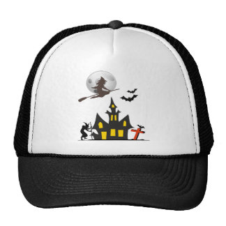Halloween Haunted House Hat