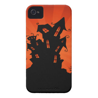 Halloween Haunted House iPhone 4 Case-Mate Case