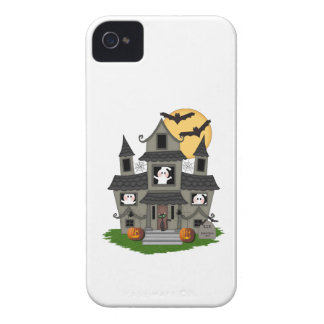 Halloween Haunted House iPhone 4 Cover