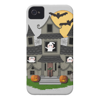 Halloween Haunted House iPhone 4 Covers