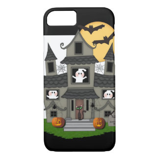 Halloween Haunted House iPhone 7 Case