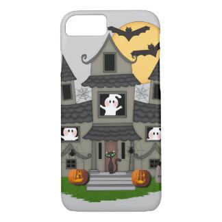 Halloween Haunted House iPhone 8/7 Case