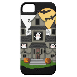 Halloween Haunted House iPhone SE/5/5s Case