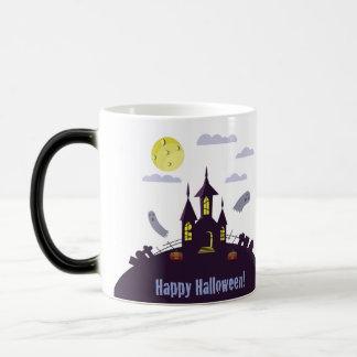 Halloween Haunted House Magic Mug