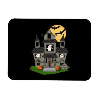Halloween Haunted House Magnet