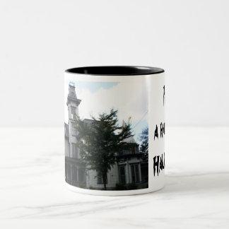 HALLOWEEN, HAUNTED HOUSE mug