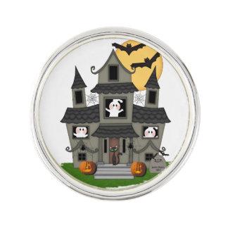 Halloween Haunted House Pin