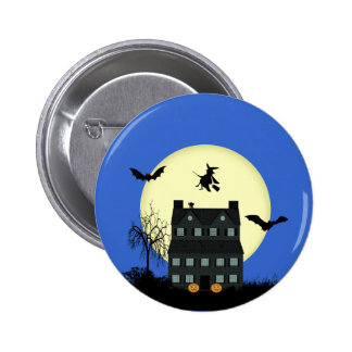 Halloween Haunted House Pins / Badges