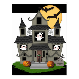 Halloween Decorations, Cards and Trick or Treats