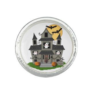 Halloween Haunted House Rings