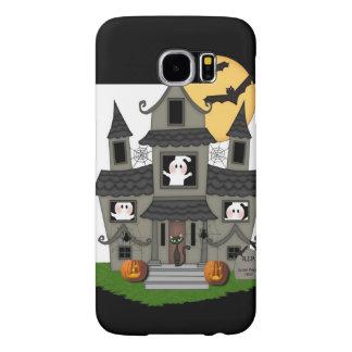 Halloween Haunted House Samsung Galaxy S6 Cases
