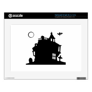 Halloween Haunted House Skin For Netbook