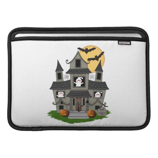 Halloween Haunted House Sleeve For MacBook Air
