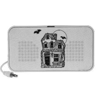 Halloween Haunted House Mini Speaker