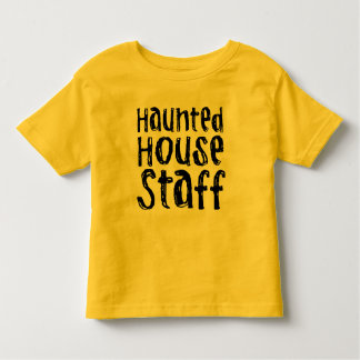 Halloween Haunted House Staff Costume Toddler T-shirt