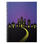 Halloween Haunted Houses Notebook