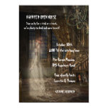 Halloween Haunted Open House 5x7 Paper Invitation Card