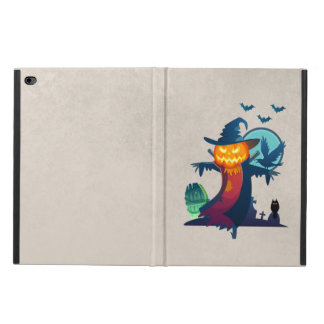 Halloween Haunted Scarecrow With Bats And A Crow Powis iPad Air 2 Case