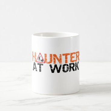 Professional Business Halloween Haunter At Work Busy Decorating Yard Mug