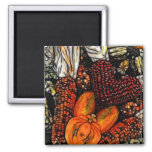 Halloween Heart! 2 Inch Square Magnet