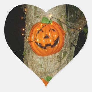 Halloween Heart Heart Sticker