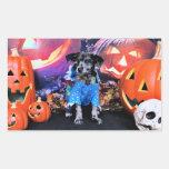 Halloween - Heeler - B'Elanna azules Rectangular Altavoces