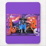 Halloween - Heeler - B'Elanna azules Tapetes De Ratón