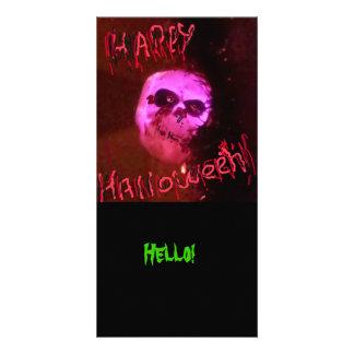 Halloween Hello Photo Card