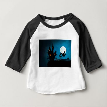 Halloween Themed Halloween Helloween Witch's House The Witch Baby T-Shirt