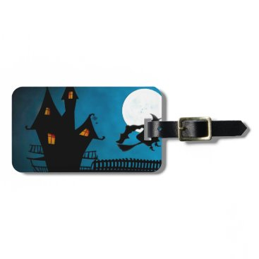 Halloween Themed Halloween Helloween Witch's House The Witch Bag Tag