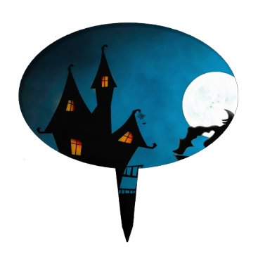 Halloween Themed Halloween Helloween Witch's House The Witch Cake Topper