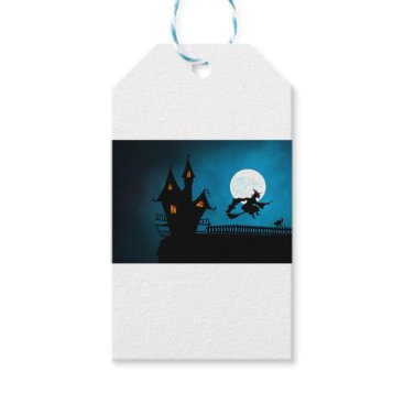 Halloween Themed Halloween Helloween Witch's House The Witch Gift Tags