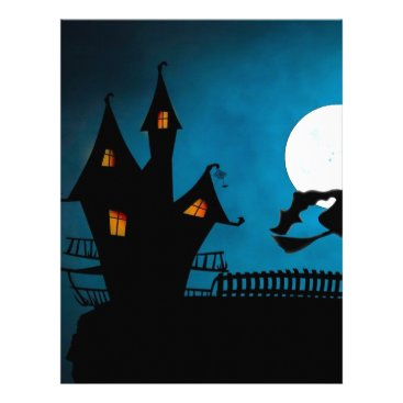 Halloween Themed Halloween Helloween Witch's House The Witch Letterhead