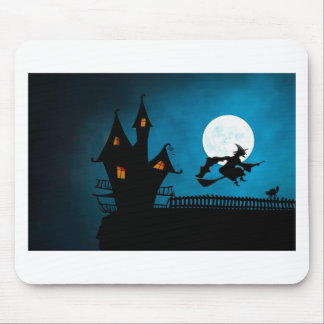 Halloween Helloween Witch's House The Witch Mouse Pad