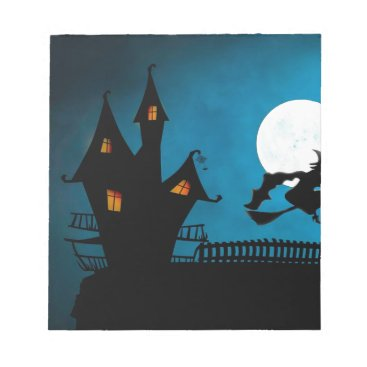 Halloween Themed Halloween Helloween Witch's House The Witch Notepad