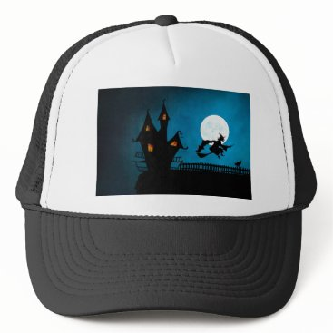 Halloween Themed Halloween Helloween Witch's House The Witch Trucker Hat
