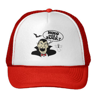 Halloween hilarante gorras de camionero