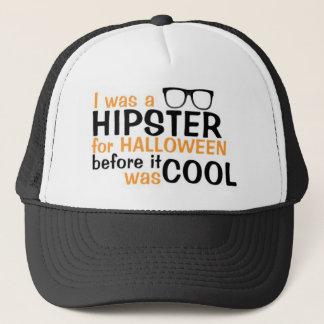 HALLOWEEN HIPSTER TRUCKER HAT