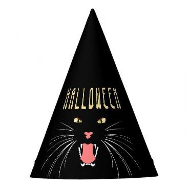 Halloween Themed Halloween Hissing Cat Black Fun Hat