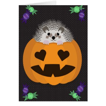 Halloween Themed Halloween Hog Card